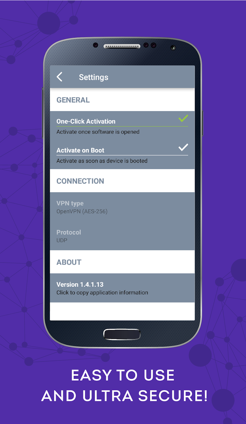 Internet VPN Screenshot 3