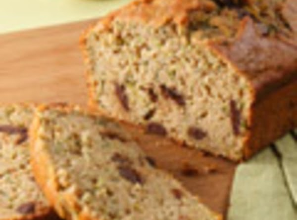 Zucchini Bread With Chocolate Recipe