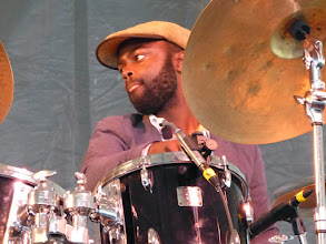 Photo: Marcus Gilmore with Veejay Iyer Sextet