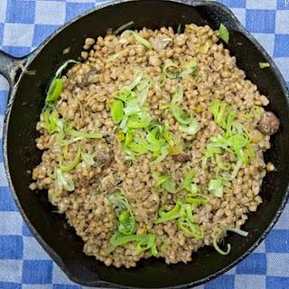Pearl Barley And Mushroom Risotto Recipes