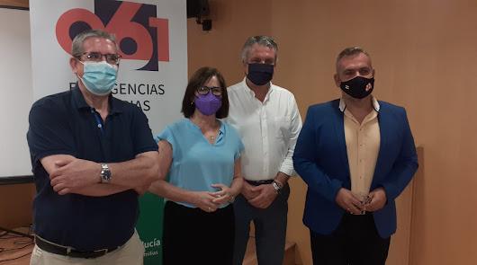 María Luz García, nueva directora del 061 en Almería