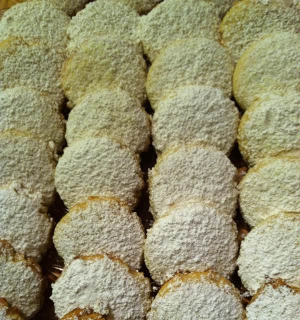 Lemon Melt Away Cookies