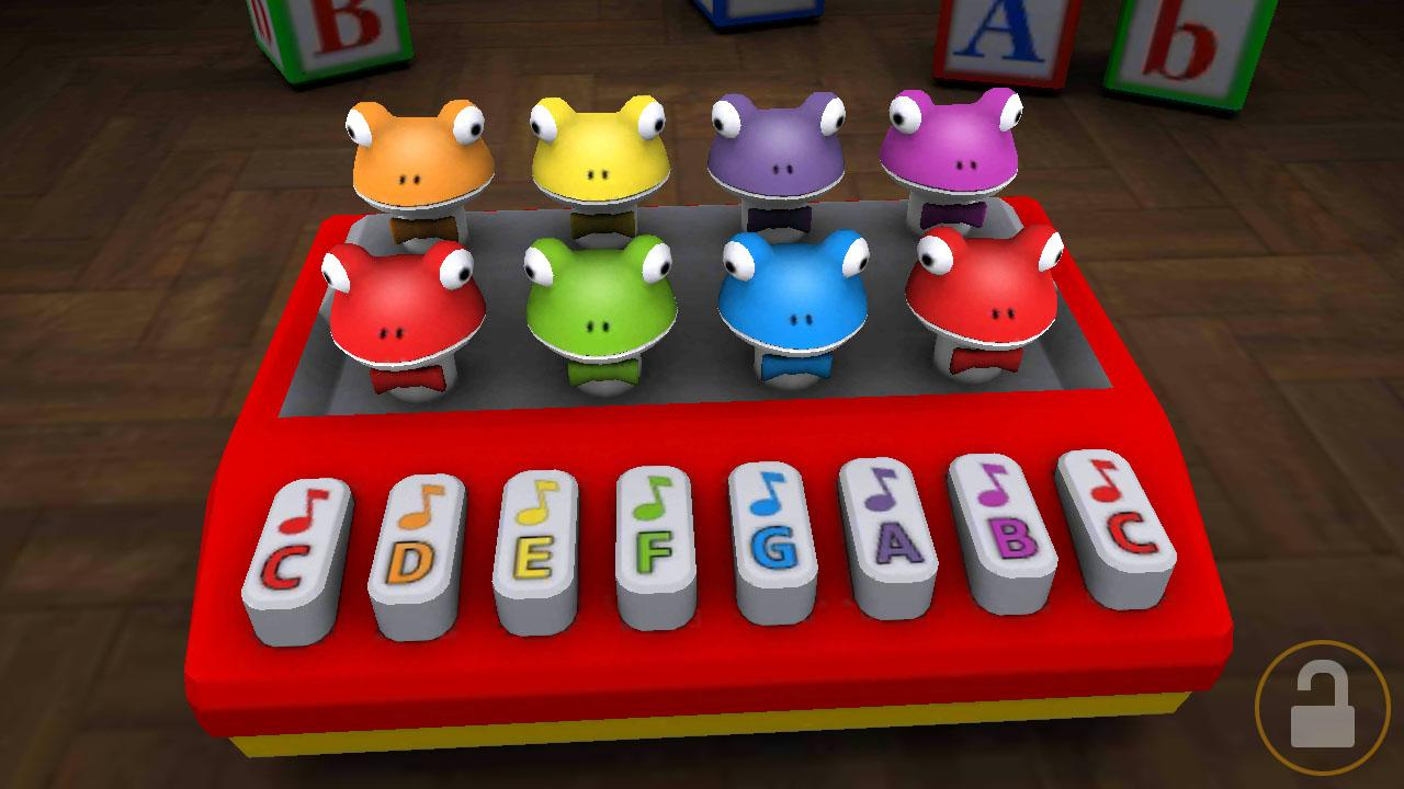 Frog Piano 3D- screenshot