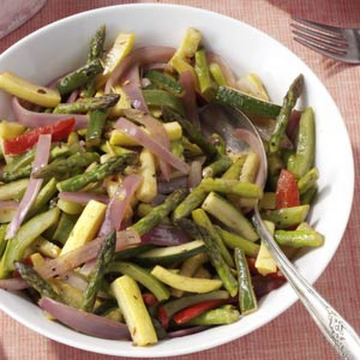 Sauteed Spring Vegetables Recipe | Yummly