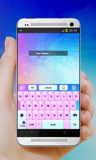 ピンクのパステル GO Keyboard 玩個人化App免費 玩APPs