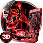 3D技術血骷髏主題 icon