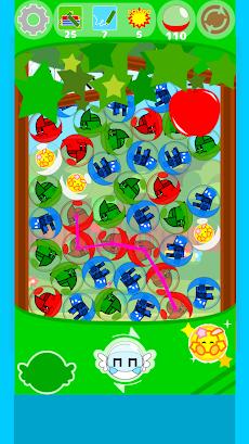 がっちゃん!カプセルをつないで消すパズルゲーム!ガチャガチャ風味!のおすすめ画像1