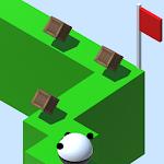 Zig Zag Rolling Panda Icon