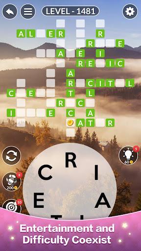 Happy Word - A crossword puzzle screenshot 2