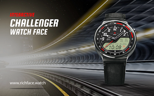 Challenger Watch Face- screenshot thumbnail