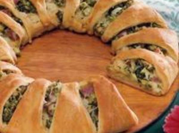 Schelley's Broccoli & Ham Ring Recipe