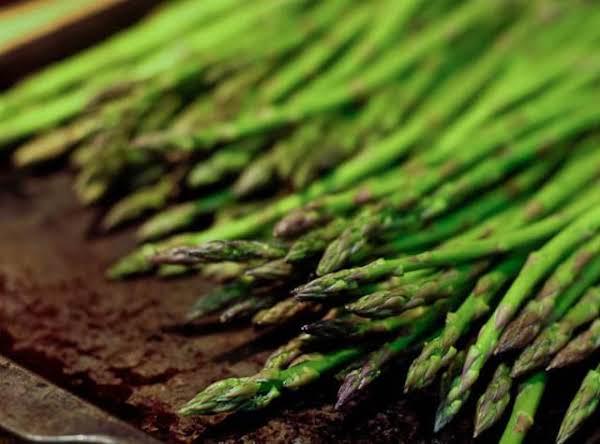 Roated Asparagus & Vidalia Onions Recipe