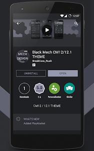 Black Mech CM12/12.1 THEME v1.19