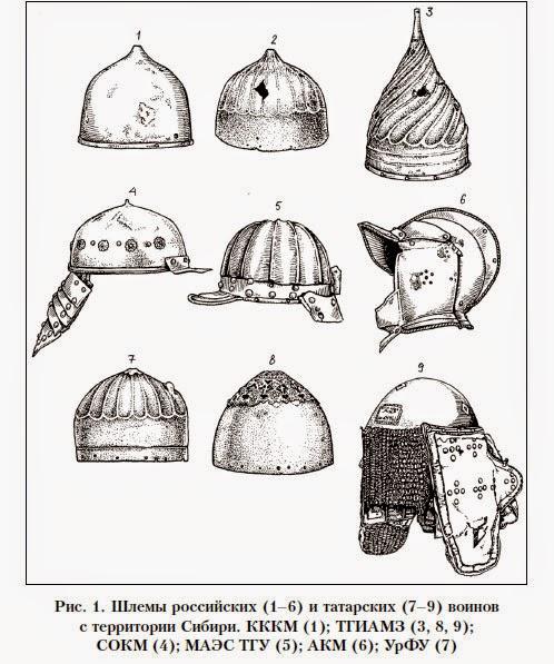 Русские шлемы