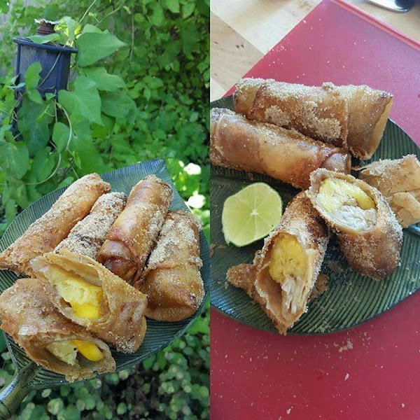 Turon Or Lumpiang  Saging (banana Spring Roll) Recipe