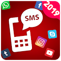 SMS Receive - Temporary Virtual Phone Number Free icon