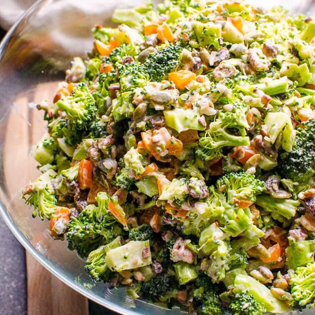10 Best Healthy Broccoli Salad No Mayonnaise Recipes Yummly