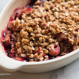 Blackberry Rhubarb Crisp Recipes