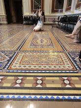 Photo: Floors in the Indian Treaty Room inside EEOB