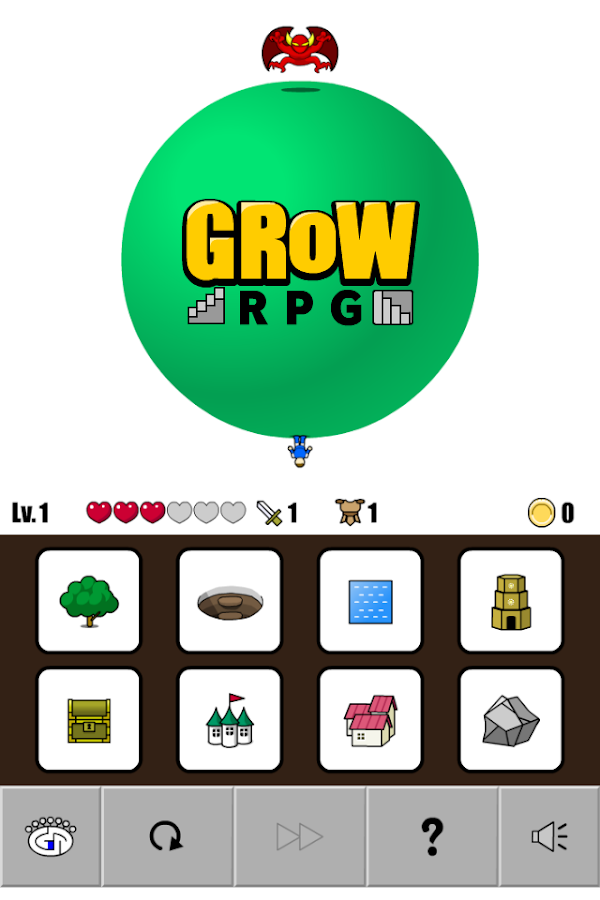 GROW RPG- screenshot