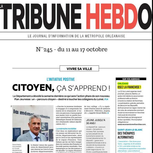 Tribune Hebdo met a l'honneur la franchise pour Reconversion en franchise.com