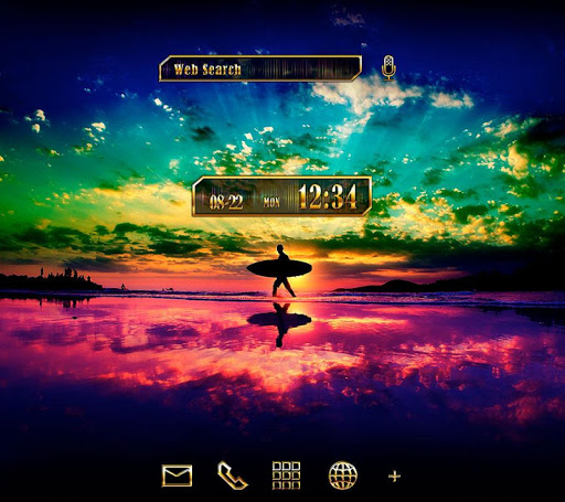 Surfing Theme Surfer 1.0.0 Windows u7528 1
