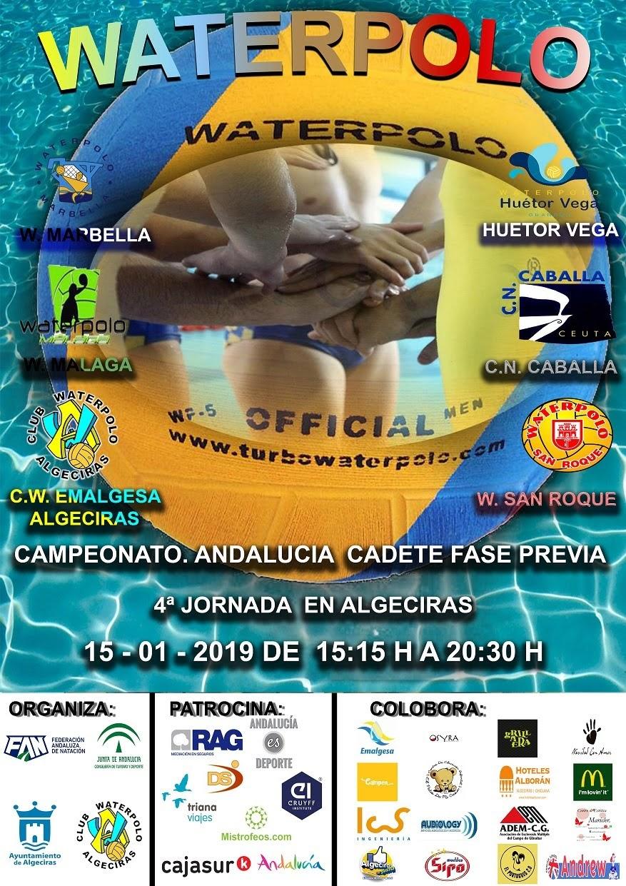 El Waterpolo Algeciras vuelve a las competiciones oficiales