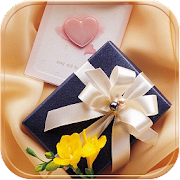 App Gold gift Theme present apk for kindle fire