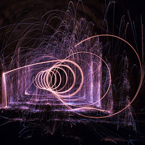 Spiral by Roger Fanner - Abstract Light Painting
