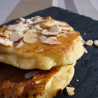 Apple Pancakes and Hazelnuts.
