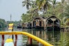 India. Kerala Motorbike Road Trip. Houseboat in Kumarakom Backwaters