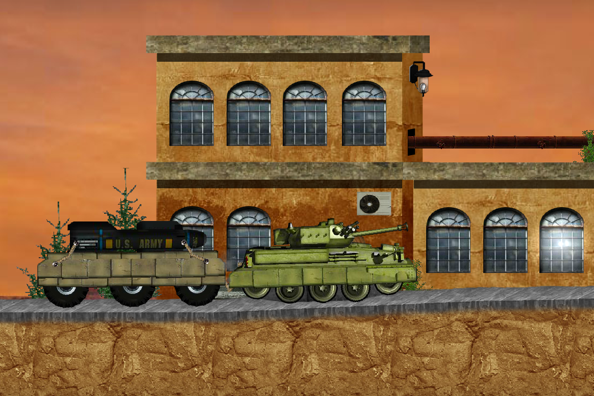 Tank mania- screenshot