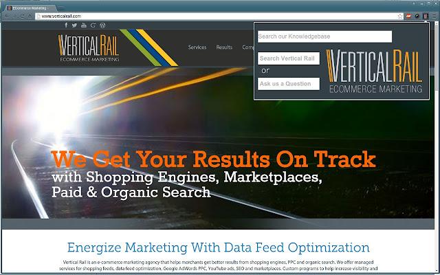 Vertical Rail Ecommerce Marketing