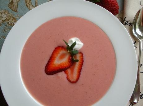Strawberry Soup Recipe