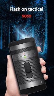 Bright LED Flashlight - náhled