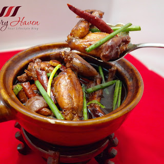 Succulent Claypot Kung Pao Frog Legs (砂煲宫保田鸡)