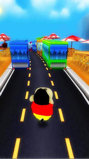 Super Shinchan Boy Subway Run screenshot 1