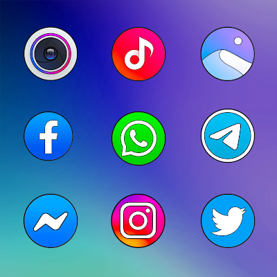 MIUI 12 CIRCLE - ICON PACK Screenshot Image