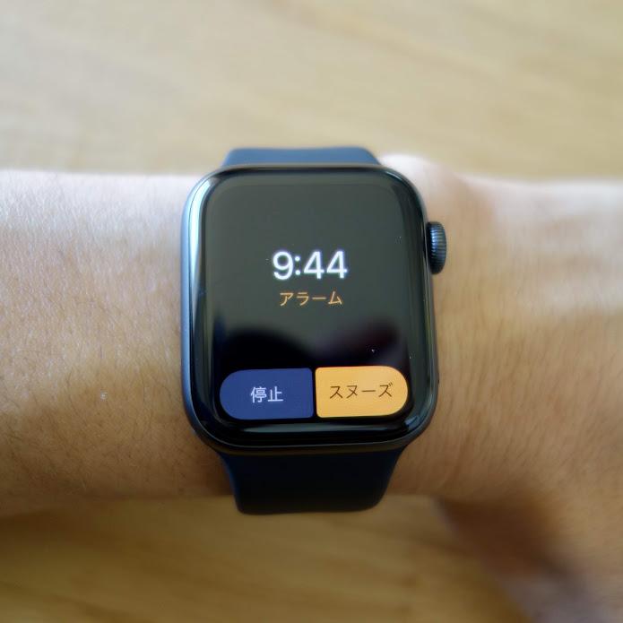 Apple Watch Series 4 アラームアプリ2