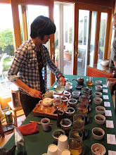 Photo: Tea Tasting, Pure Puer Tea, November 2010