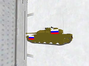 T-87u* russian meme tank