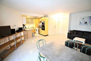 Appartement meublé 2 pièces 47,8 m2