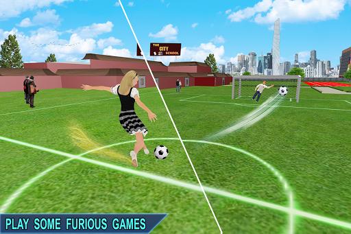 Virtual Girl Life: New High School Girl Sim android2mod screenshots 9