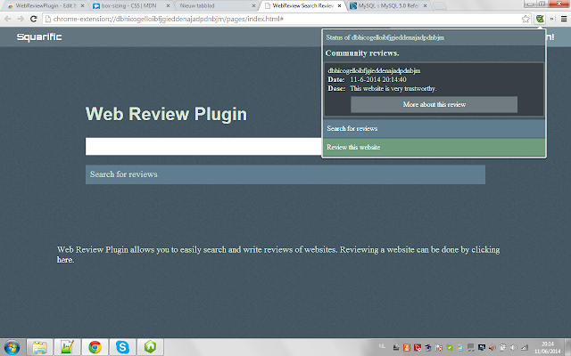 WebReviewPlugin