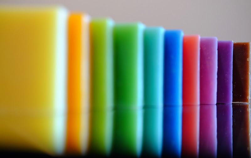 Colored soaps di MarcoUgoccioni