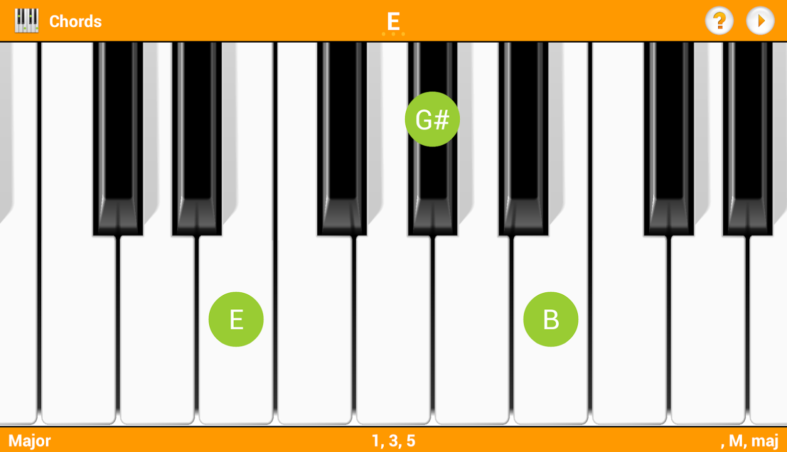 Keychord piano chordsscales android apps on google play keychord piano chordsscales screenshot hexwebz Image collections