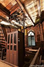 Photo: Szafa na wieży Kościoła Św. Józefa, kryjąca mechanizm zegara
