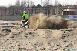Motocross in spiaggia