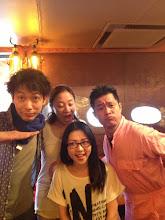 Photo: 新宿犀門にてリハーサル!当日のゲストの 「戸谷江里」さんがいらしてくれましたー!5/26