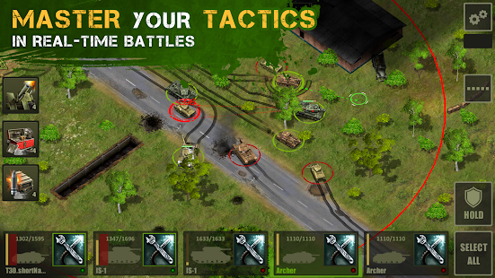 Iron 5: Tanks- screenshot thumbnail